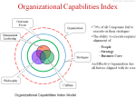 Organizational Capabilities Index