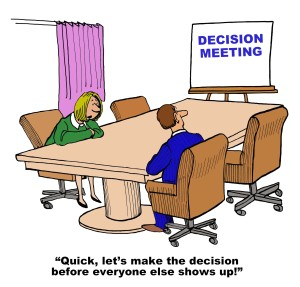 Get the Right Employees Involved in Decision Making
